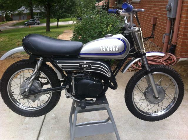 fully restored 1973 mx 80 yamaha