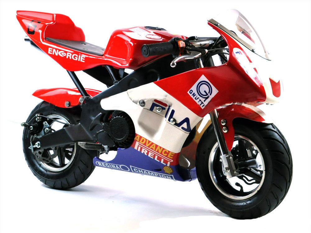 FunBikes MT4A 50cc Mini Moto Racing Bike / Race Childrens Kids Petrol Motor
