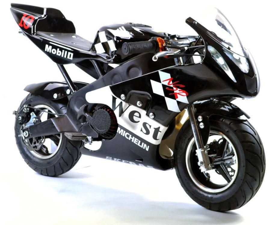 FunBikes MT4A 50cc MiniMoto Racing Bike / Race Childrens Kids Petrol Mini Motor