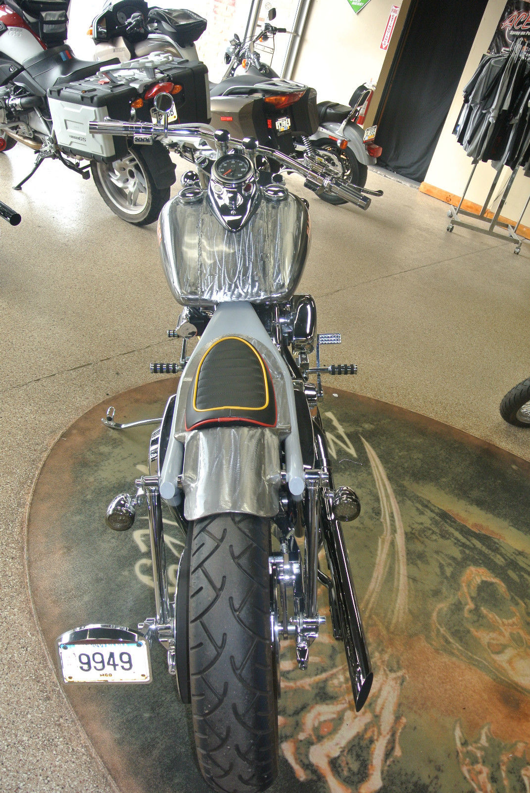 Harley Davidson Fxr Black Death