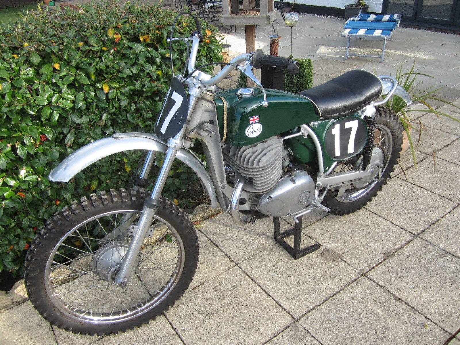 greeves challenger 380 scambler motocross classic bike