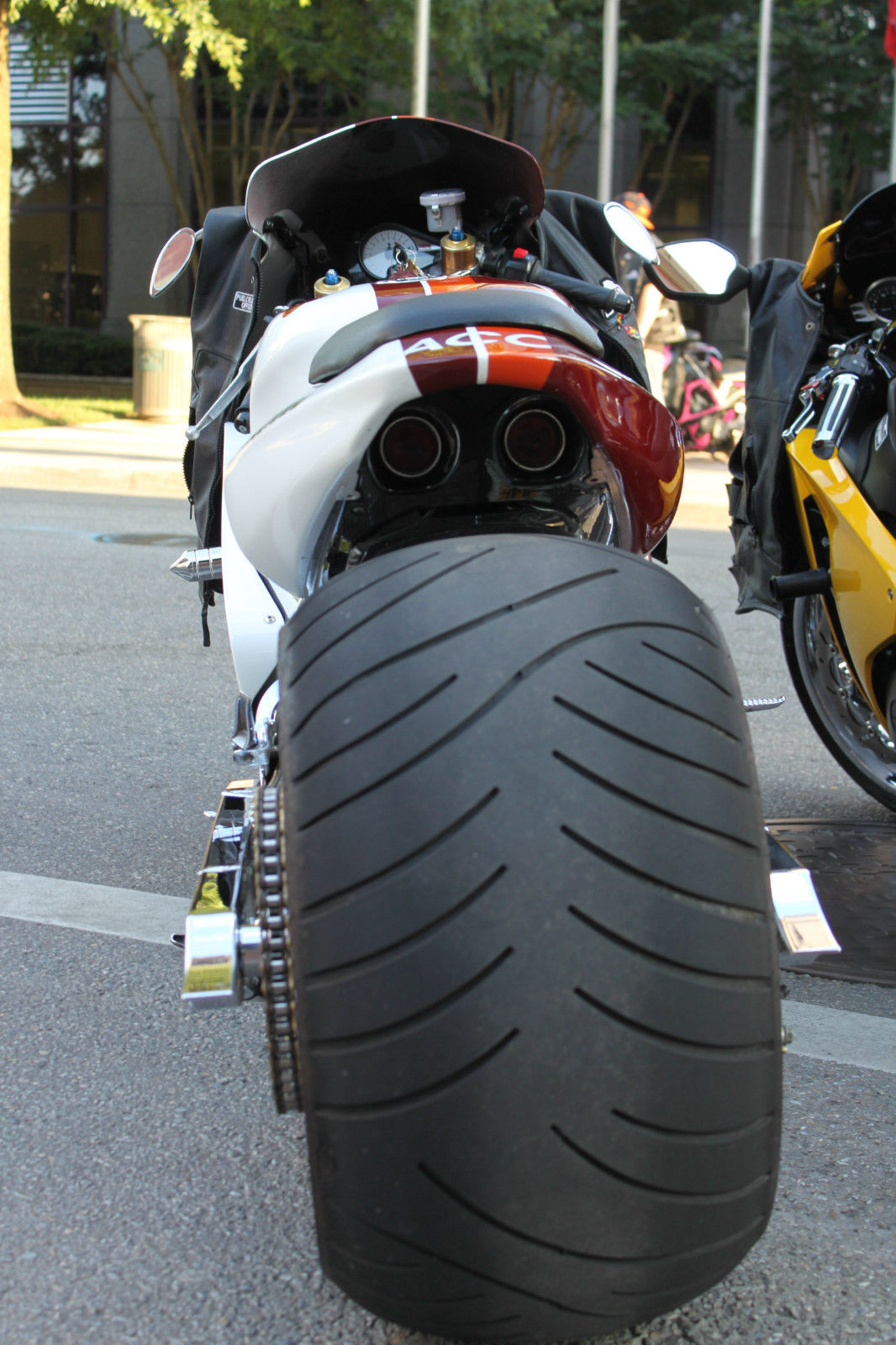 Gsxr 1000 Air Ride Suspension 330 Fat Tire Fusion