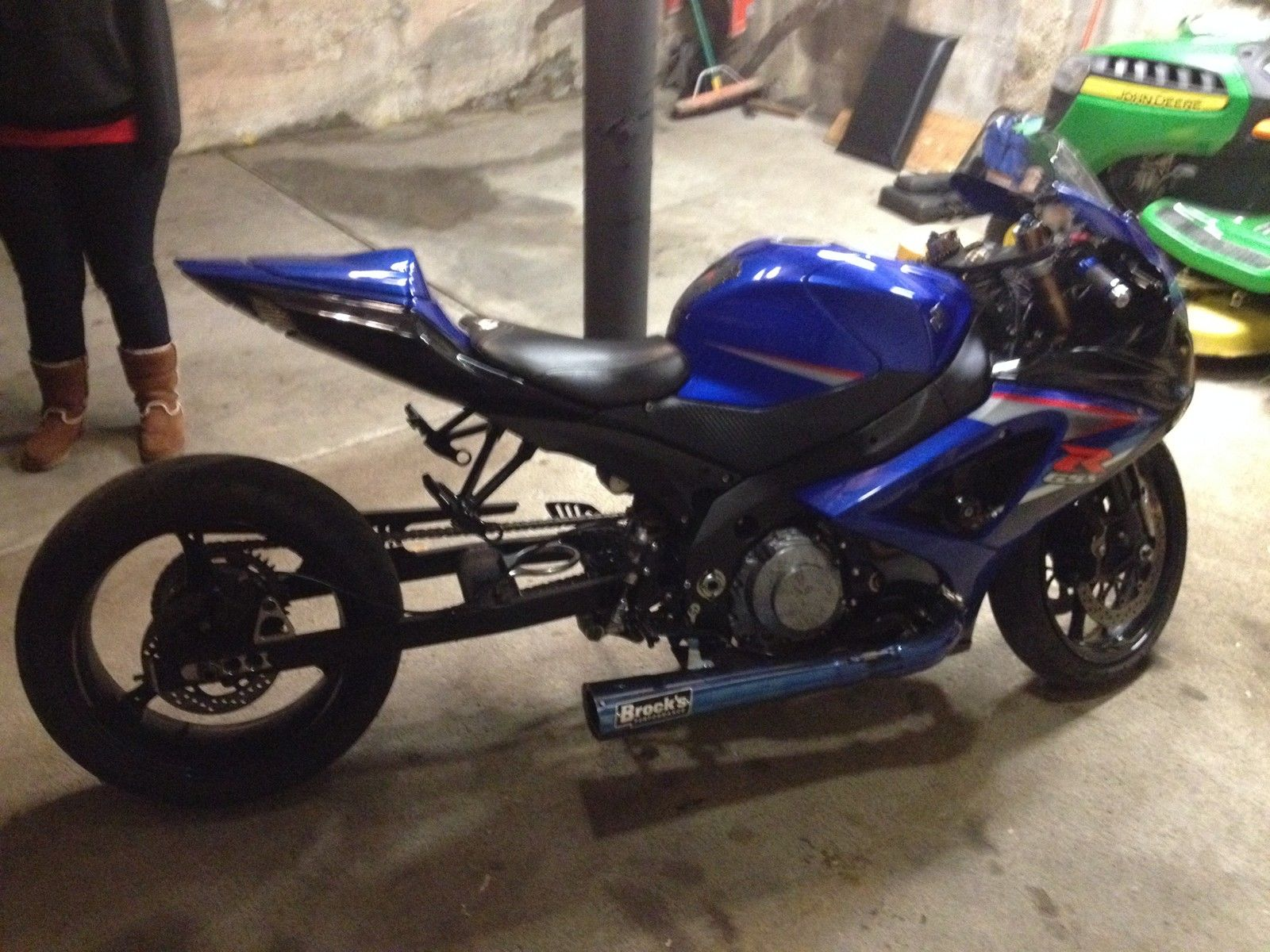 Gsxr1000 Nitrous Grudge 7 Second Street Legal Stretched