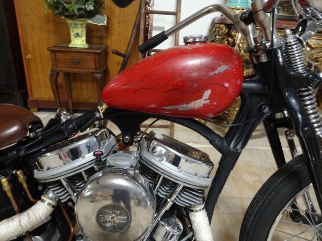 Harley 1961 Panhead in a VL chassis, Knucklehead, Shovelhead, EVO, Bobber