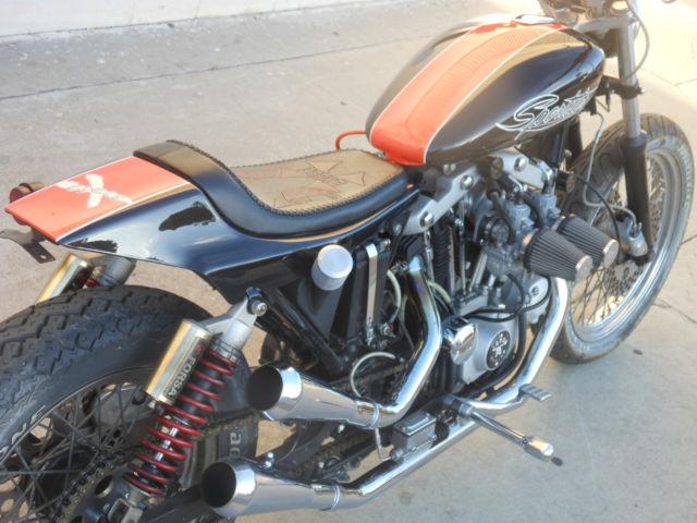 Harley Cafe Racer XL XLCR XR 750 Sporstar Iron Head Vintage XLX