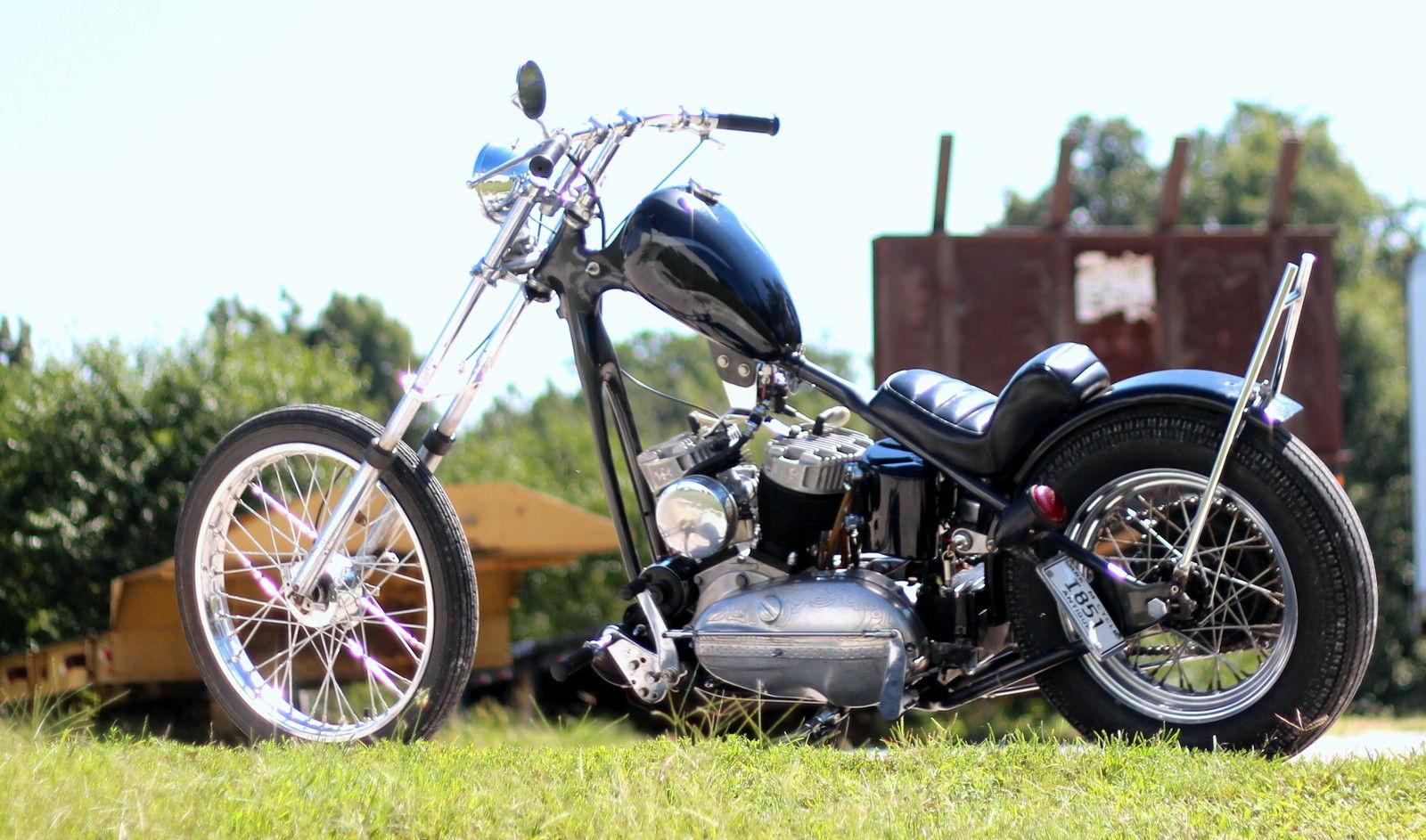 Harley Chopper K Model Kh Khk Kr Survivor 1956 Khk Ness