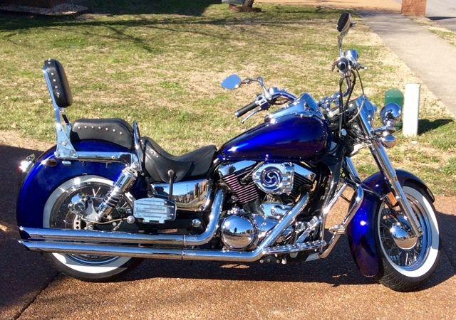 Harley Clone Kawasaki Vulcan 1500 Classic Custom