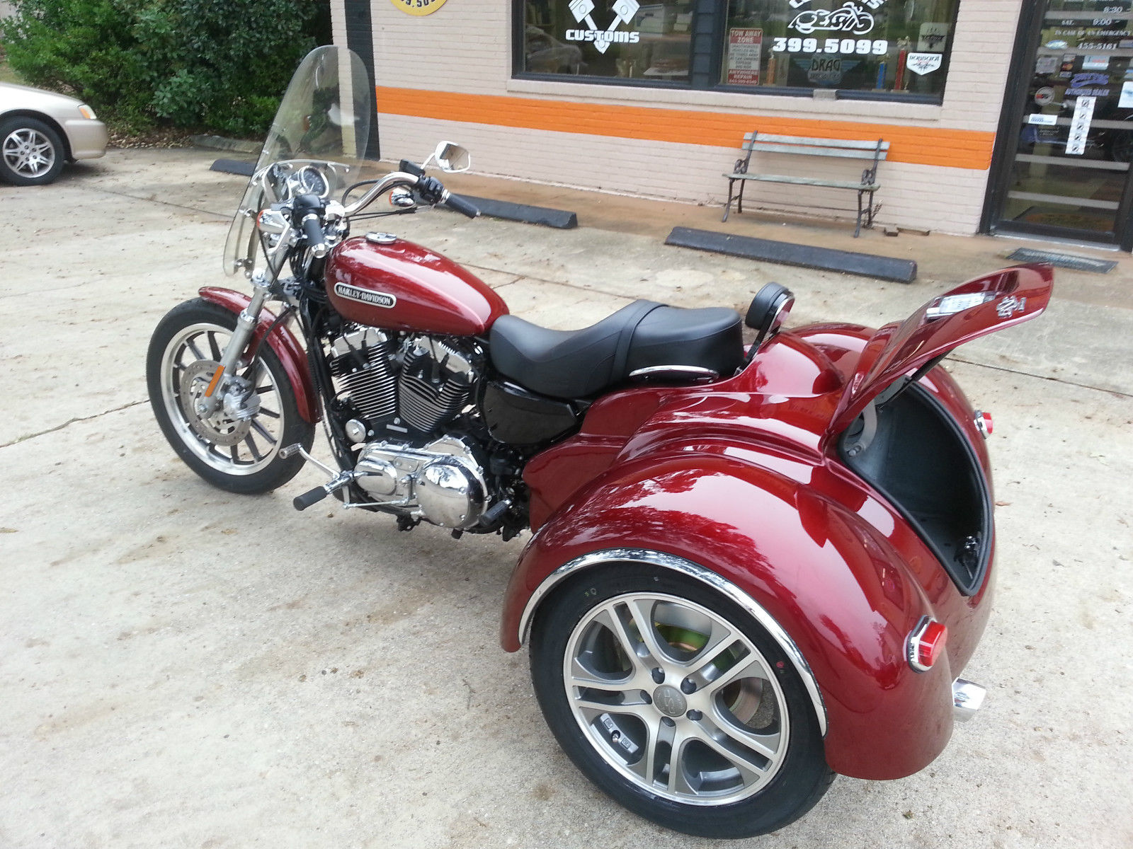 Mini Cooper Sportster >> California Sidecar Harley Trike For Sale.html | Autos Post