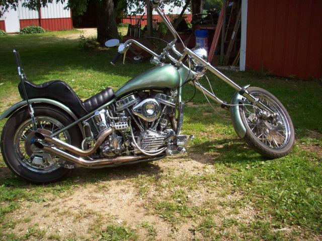 Harley Davidson: Harley-Davidson 1949 Panhead FL Custom