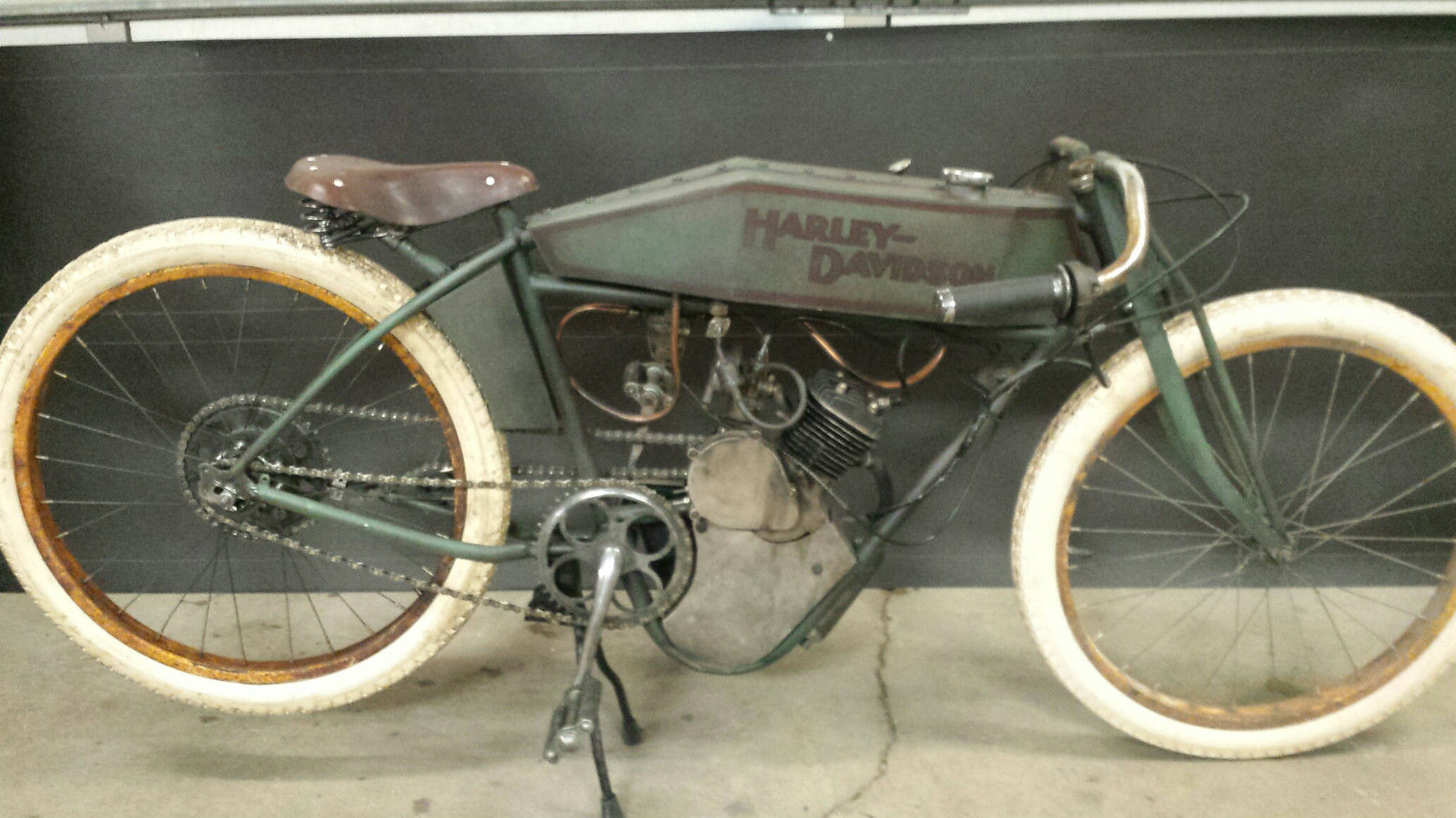 Harley Davidson Board Track Racer Barn Find Replica Custom