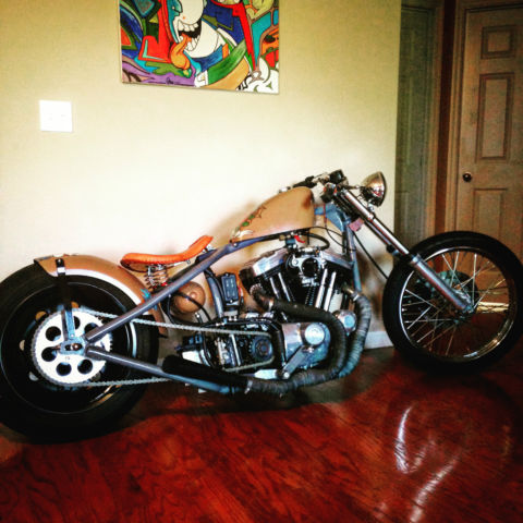Harley Davidson Custom Choppers Sportster 883 Bobber Rigid Framehand Made
