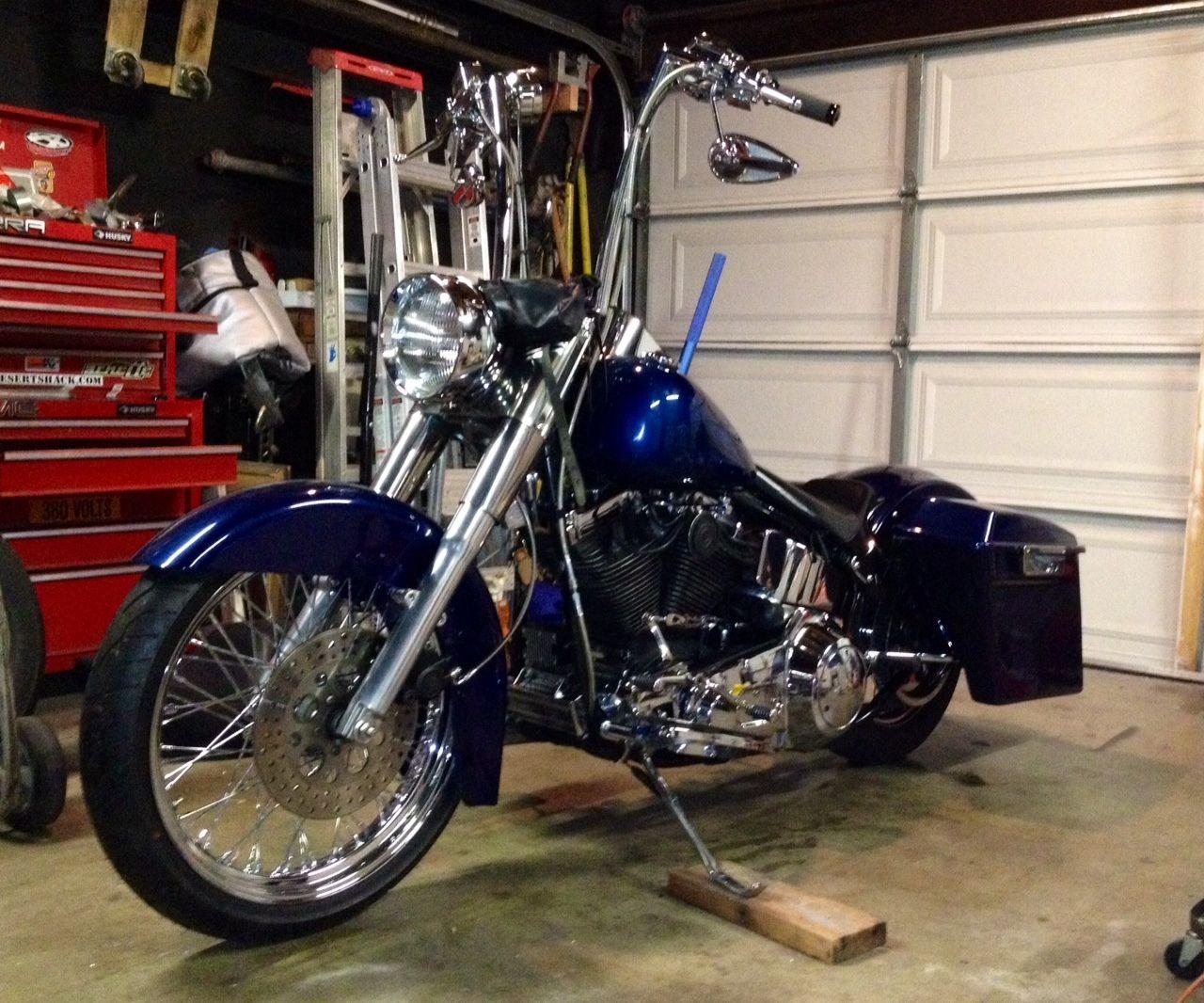 Harley Davidson Custom Softail Bagger