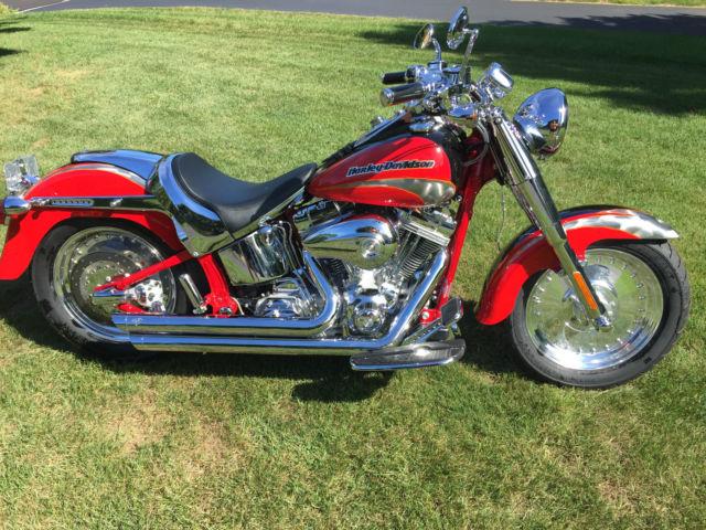 Cvo For Sale Pennsylvania >> Harley Davidson Fat Boy CVO Screamin Eagle- Low miles. mint. extras.