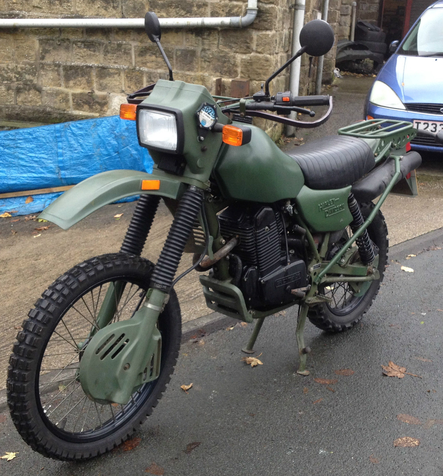 "HARLEY-DAVIDSON MT350 ARMSTRONG TRAIL ""EX BRITISH ARMY"" GREEN others  available"