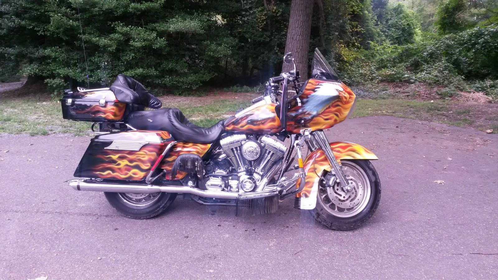 Harley davidson road glide custom paint jobs pictures to for Road case paint