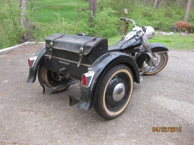 Harley Davidson Servicar 45 Flathead Custom Three Wheeler Trike Like