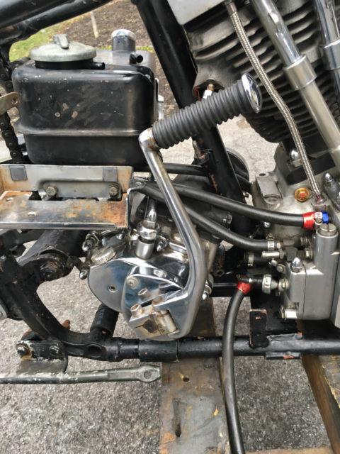 Harley Davidson Shovelhead Kickstart Magneto Ratchet Transmission Title  Frame