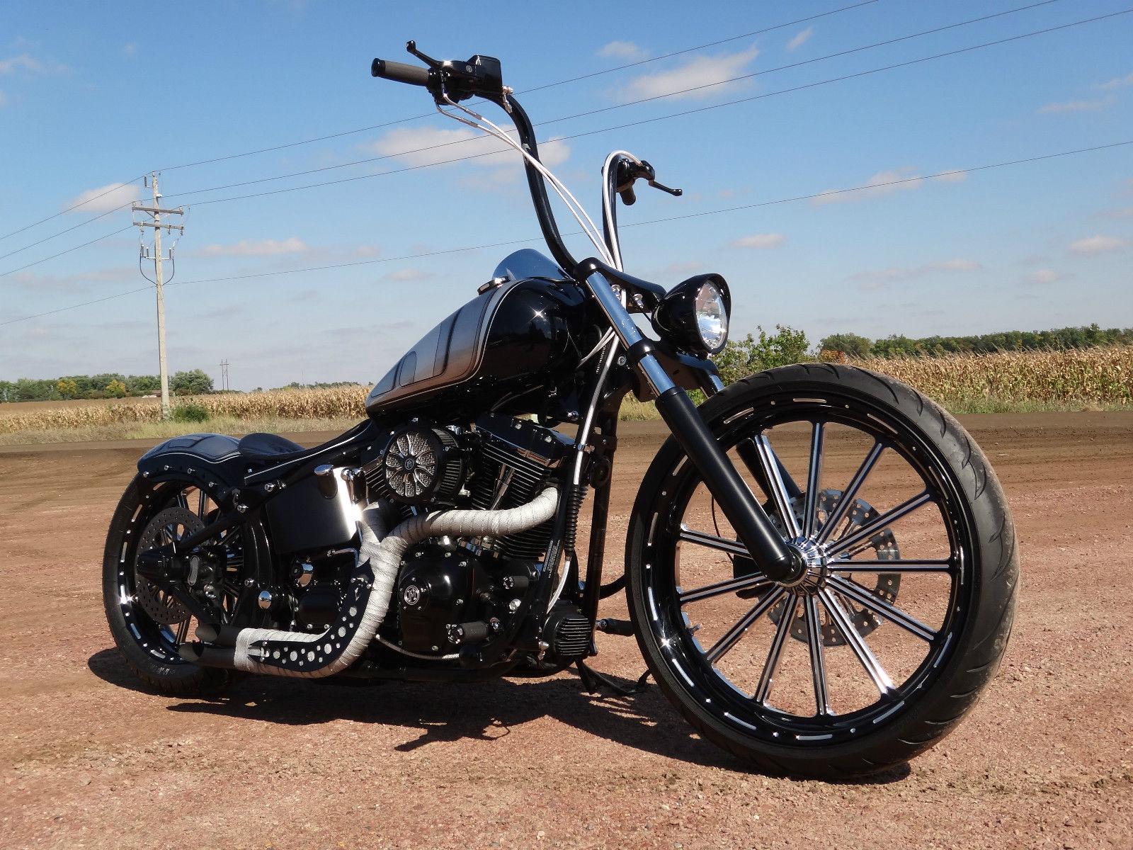 Harley Davidson Softail Deuce Custom Twisted Choppers