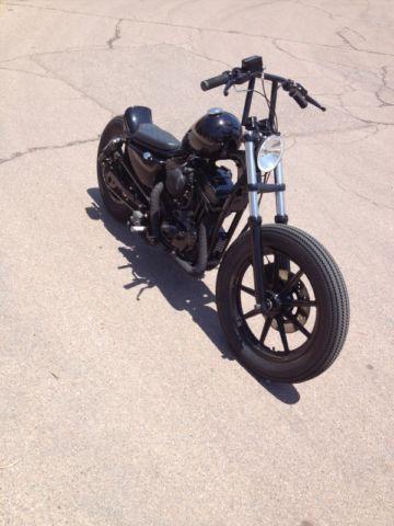 Harley Davidson Sportster 1200 Brat Style Bobber Flat Tracker Chopper Custom