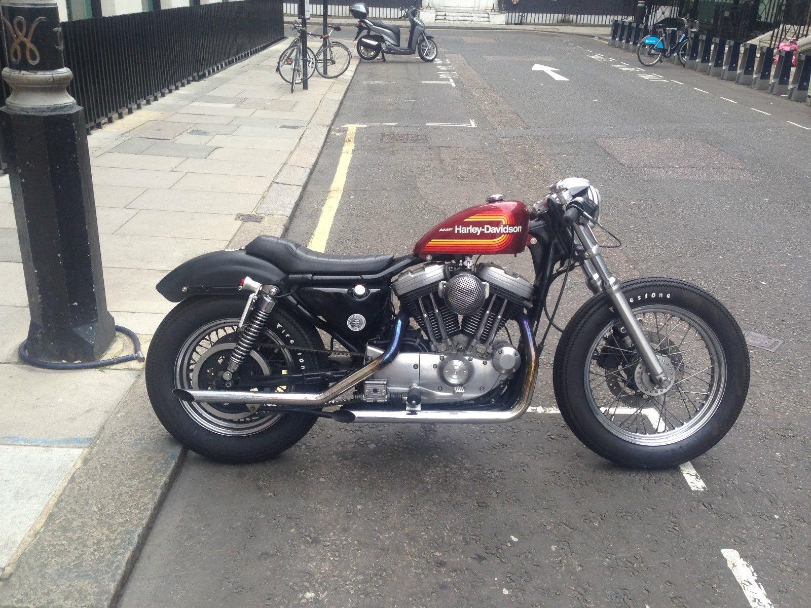 Harley Davidson Sportster 1200 Cafe Racer Amf 883