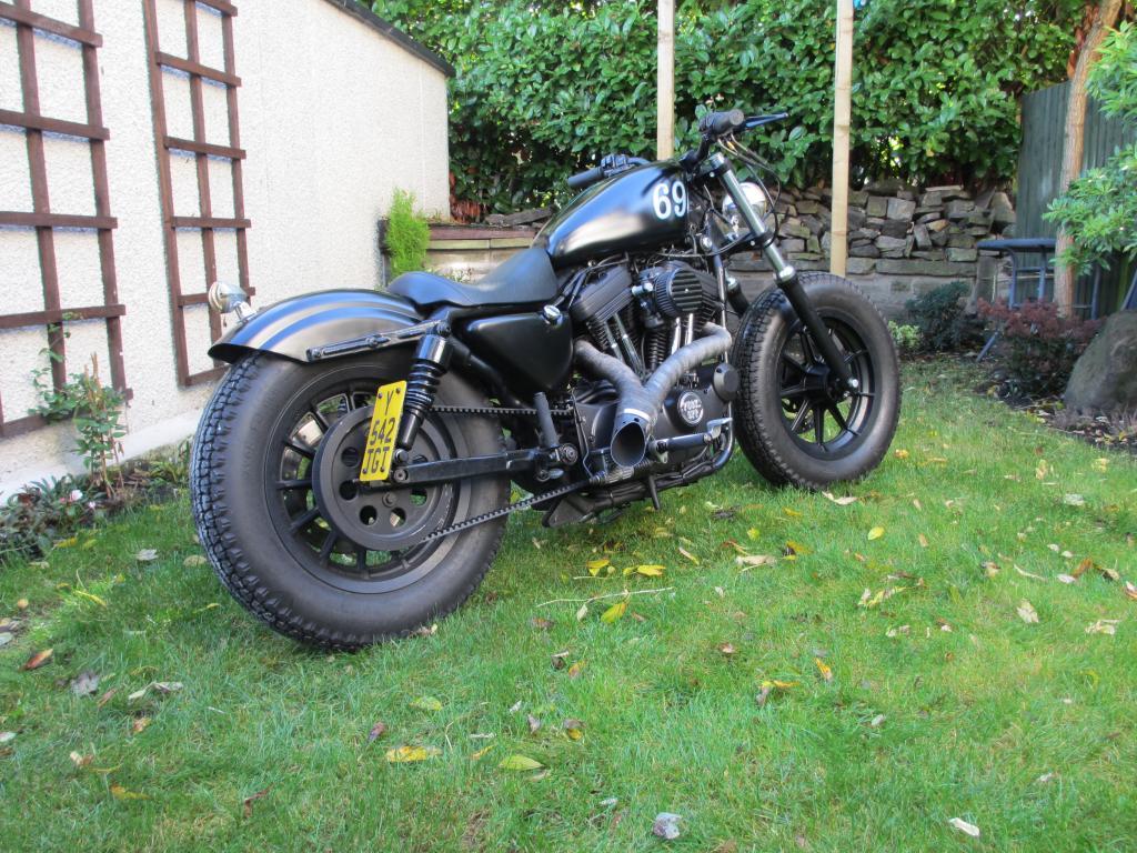 Harley Davidson Sportster 1200S 48 Style Hotrod Custom ...