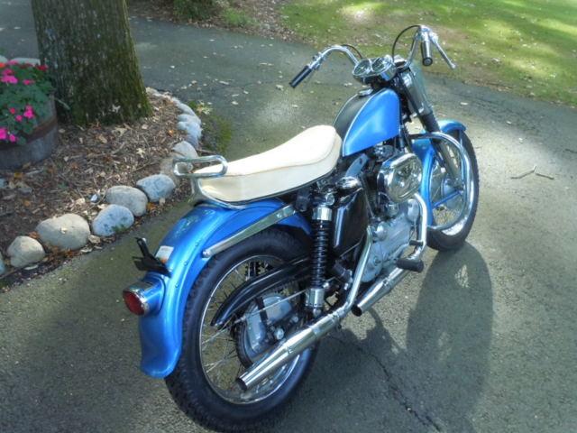 Harley Davidson Sportster 1968 Xlh