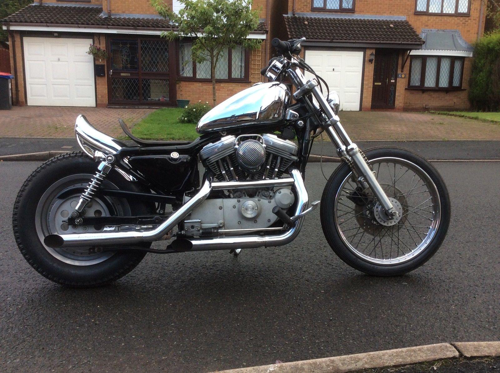 Harley Davidson Sportster Chopper Chop Bobber Brat Jap Style