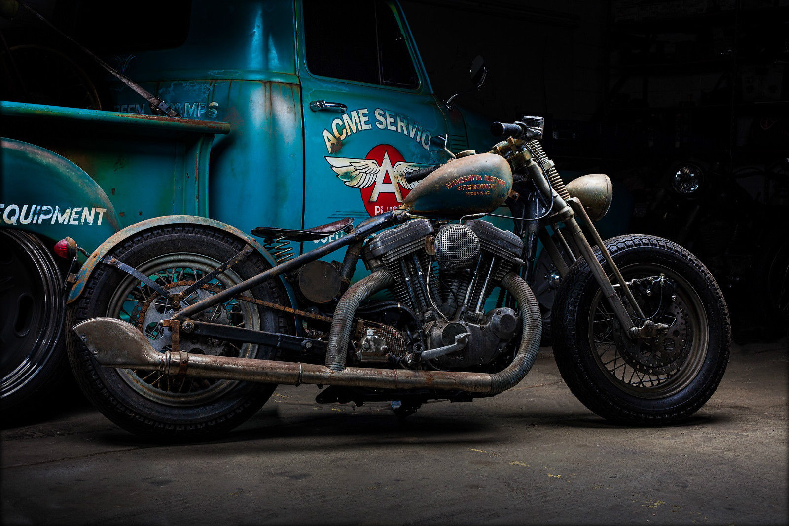 Harley Davidson Sportster Custom Bobber By Bobberpros Vintage Style Rat Bike on Sportster Ignition Coil