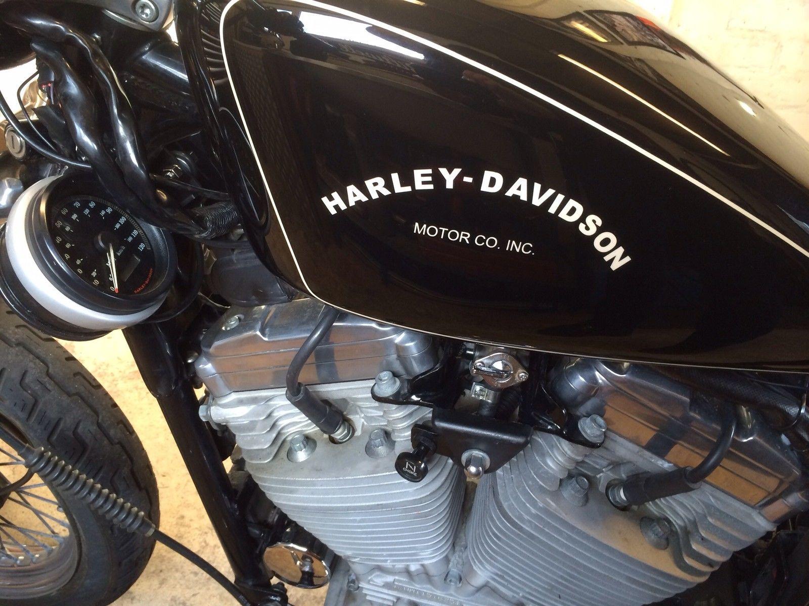 Harley davidson sportster xlh 883 for Sportster solid motor mounts