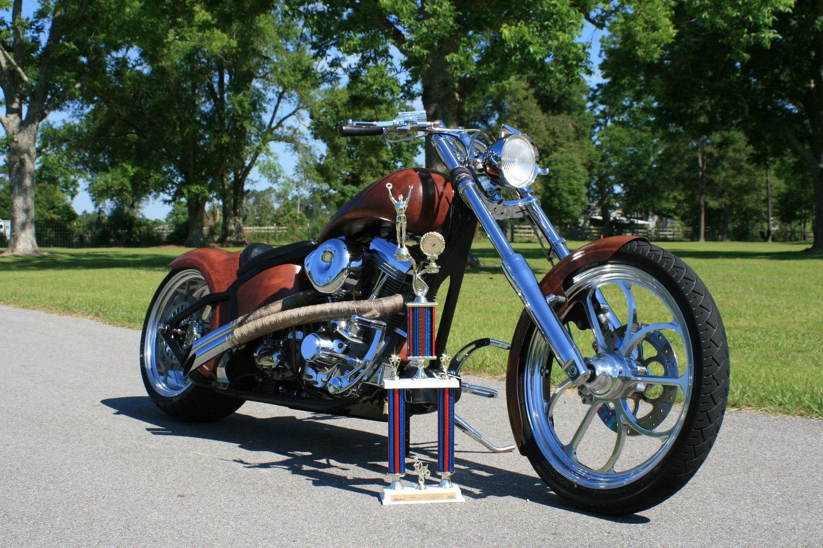 Harley Davidson Titled Custom Built Chopper Motorcycle