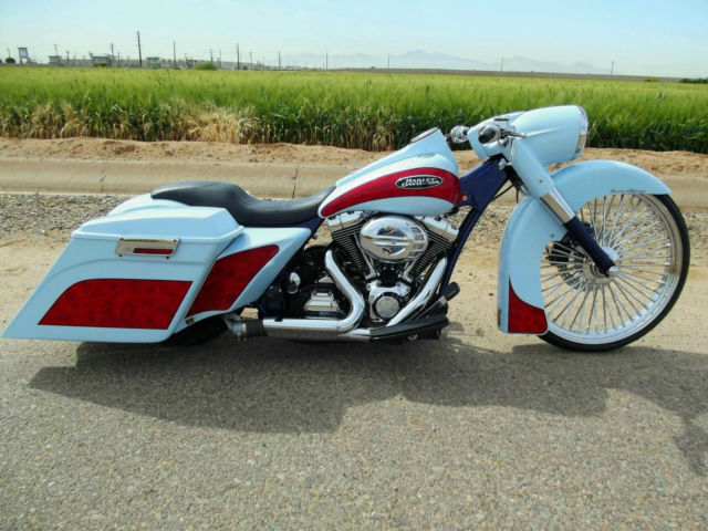 harley davidson touring bagger custom road king