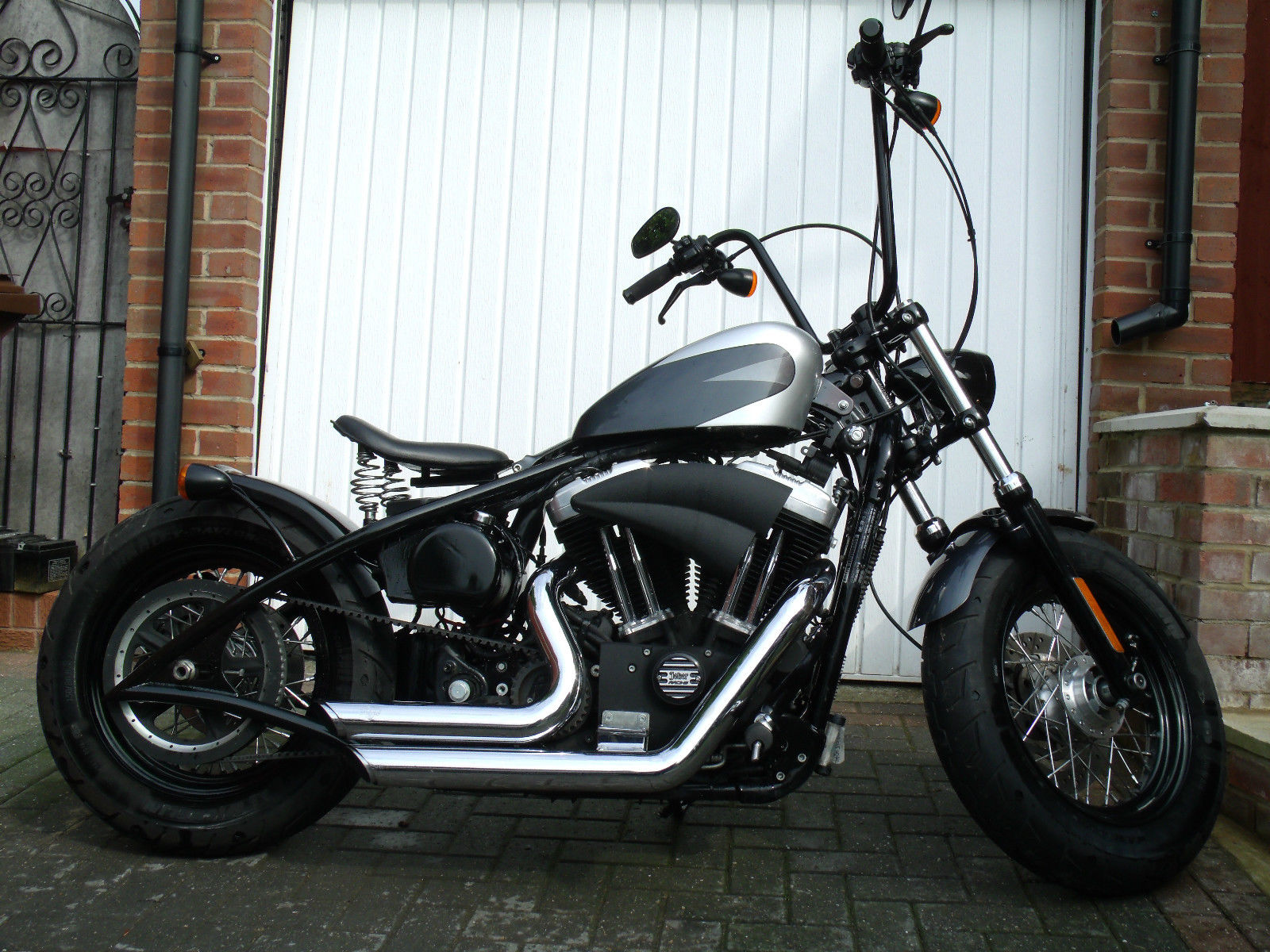 Harley Davidson Xl 1200 X Forty Eight Bobber Chopper Sportster 48 Custom Wiring Diagrams Not Softail Victory Indian