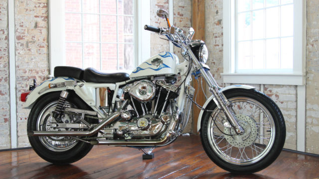 Harley Davidson XLH 1200 Custom Iron Head Sportster ,over $20,000 Invested  MINT