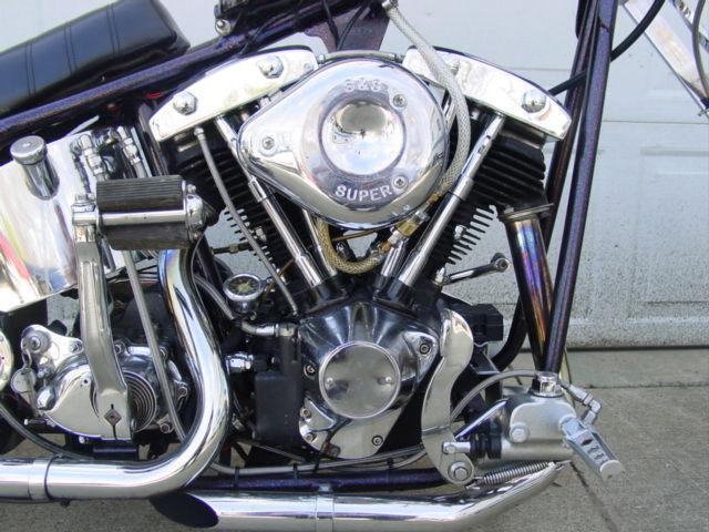 Harley Jammer Chopper Bobber Old School Easy Rider Custom