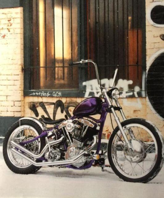 custom bobber motorcycle frames. Harley Shovelhead In A VL Frame Custom Chopper Bobber Panhead Knucklehead Motorcycle Frames 2