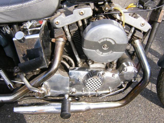 Harley Sportster Xlch Ironhead Project Bike Other Vintage 1000 Bobber Chopper Nr