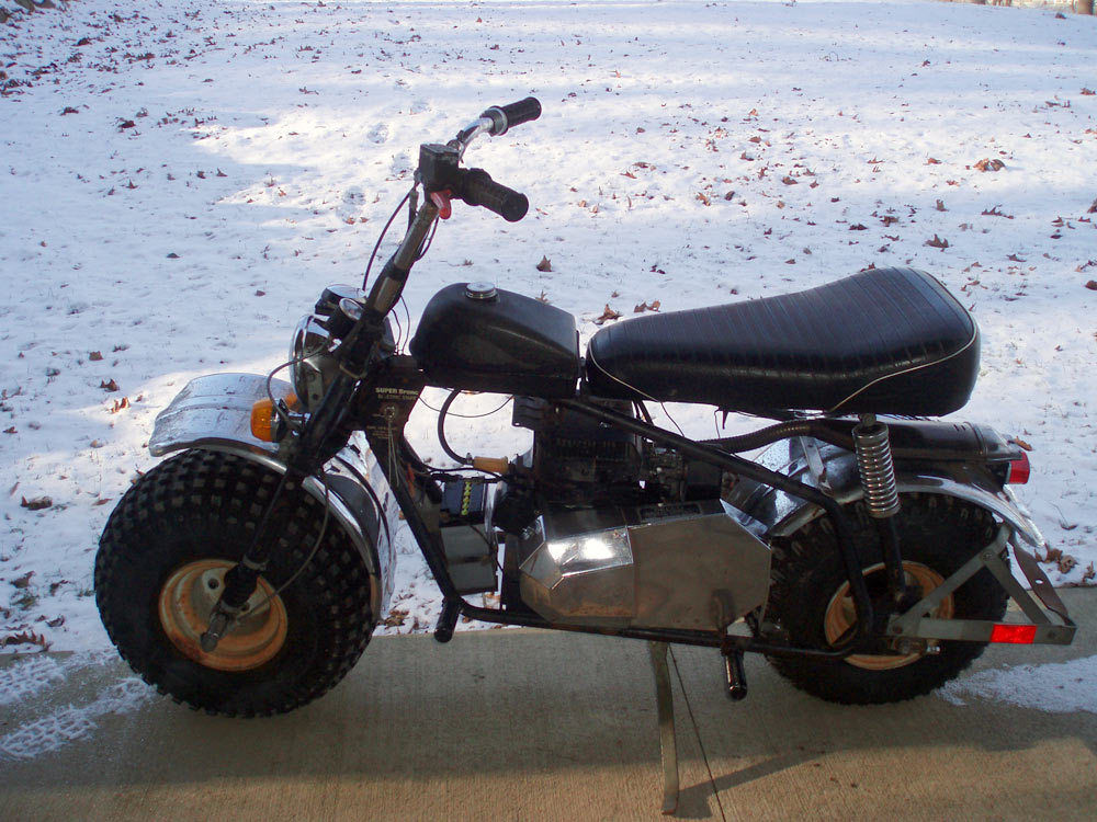 Super Bronc Mini Bike : Heald super bronc ii vt vintage mini bike motorcycle