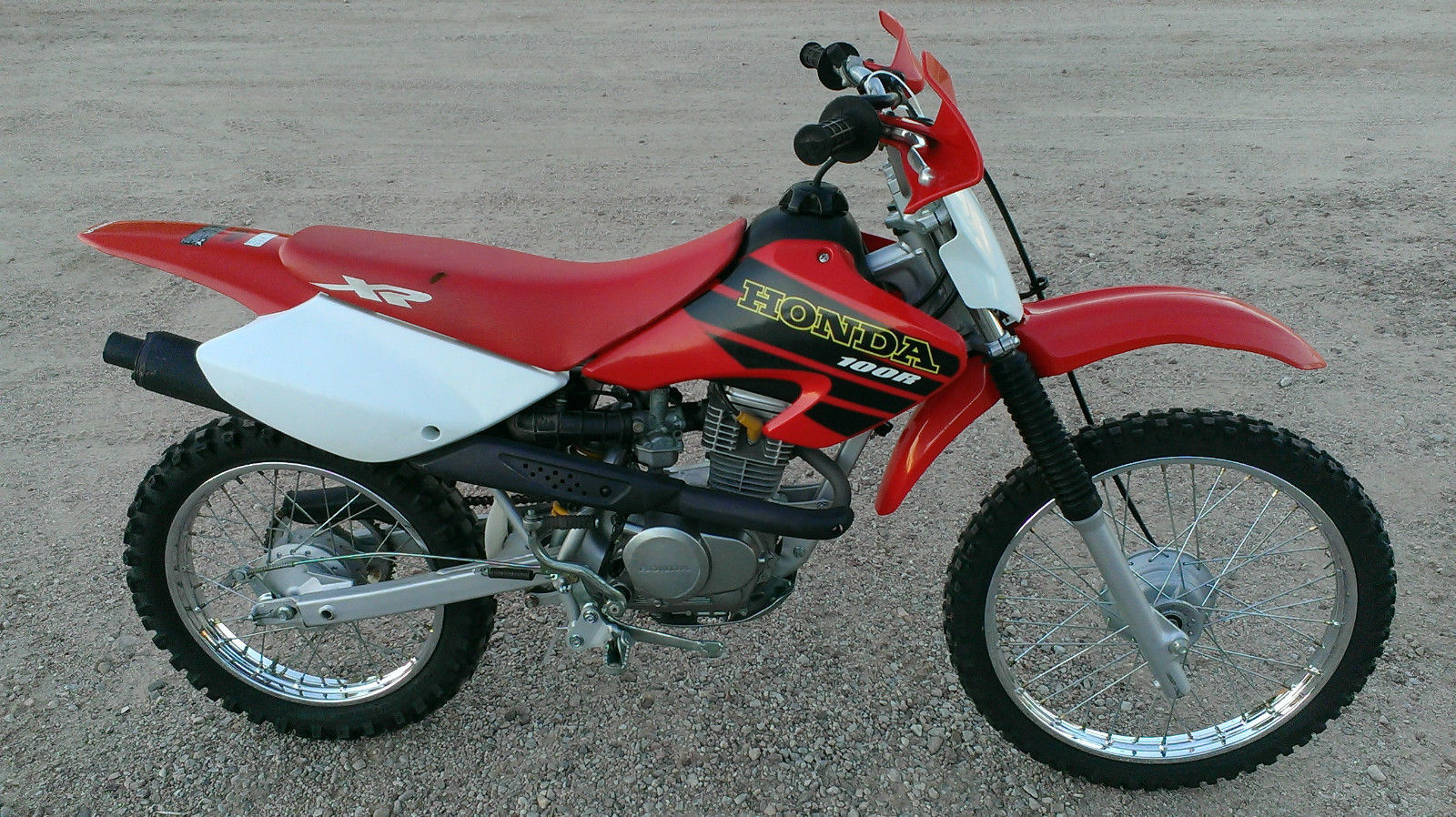 Honda 2001 Xr100r Dirt Bike Xr 100r 100 Xr100