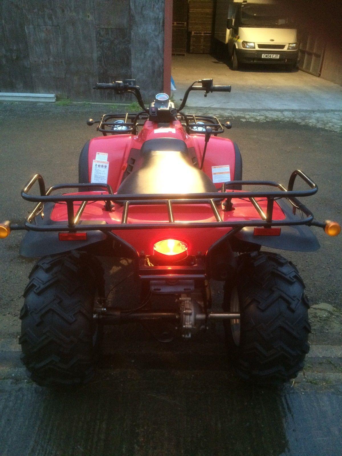 Honda 250cc replica road legal farm quad bike - Replica mobel legal ...
