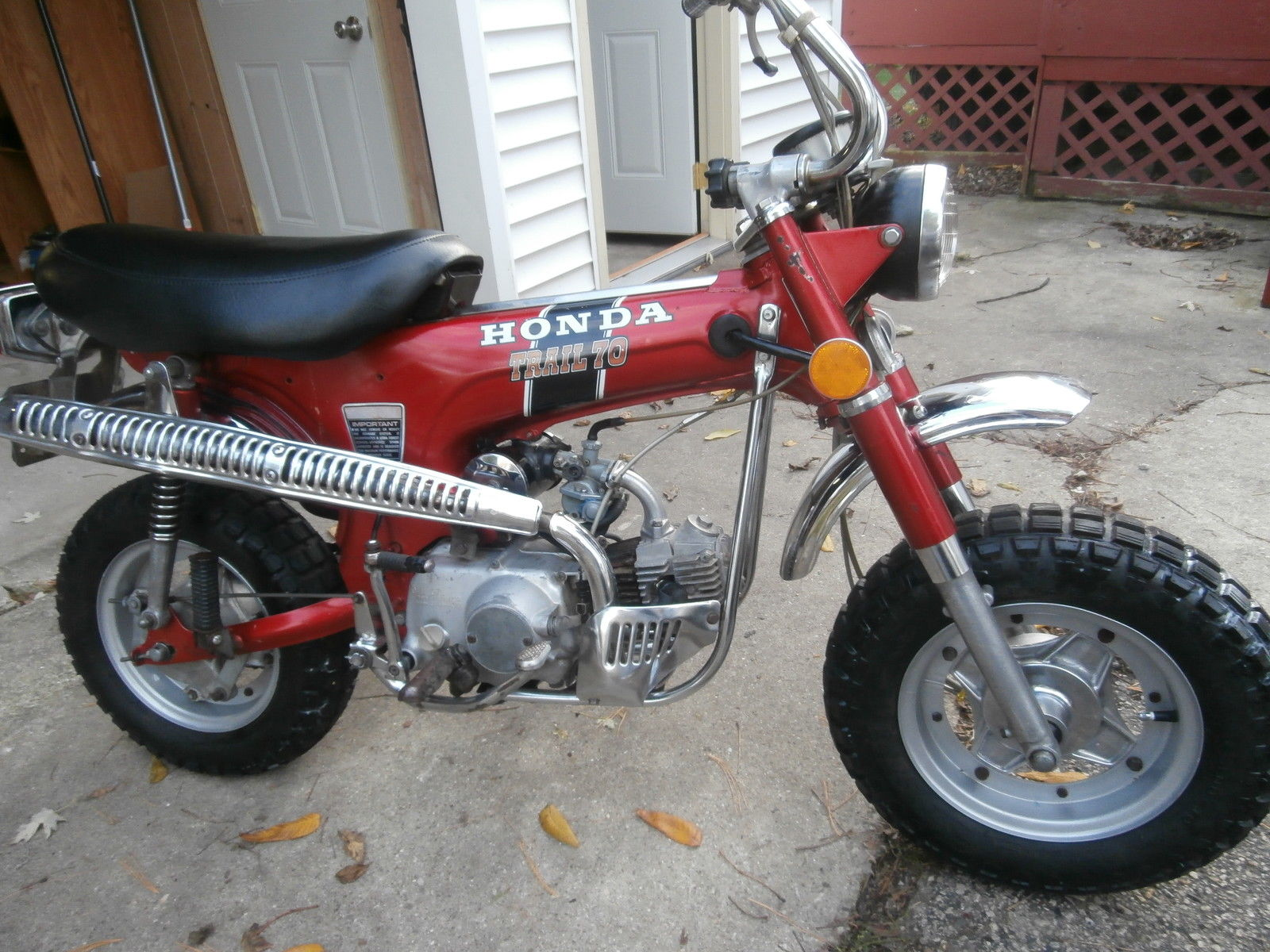 Honda 4 speed ct 70 1971 original nice 4 speed for Honda in ct