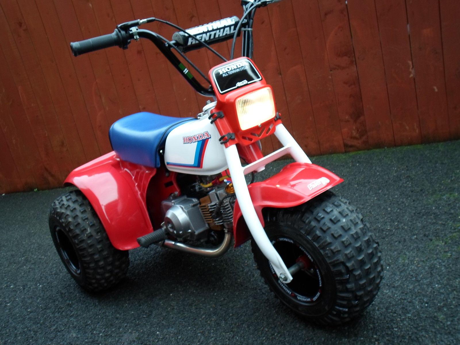 Honda Atc 70 : Honda atc monkeybike restored