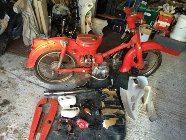 honda c90zz cub 90 70 50 c90 project rolling chassis solid. Black Bedroom Furniture Sets. Home Design Ideas