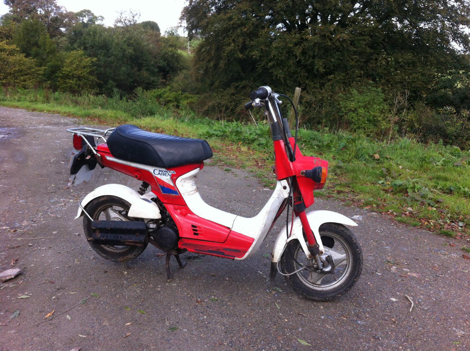 Honda Caren Nx50 Monkey Bike Barn Find 1970 50cc Dirt