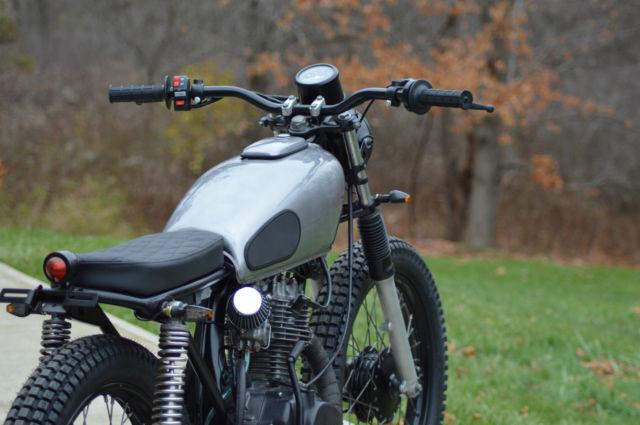 Honda Cb125 Cb Vintage Cafe Racer Scrambler Brat Bike