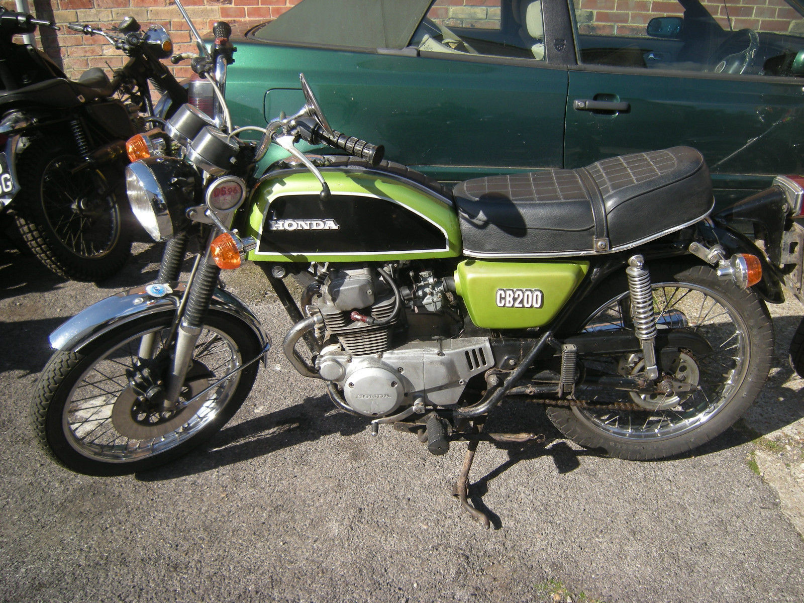 Honda Cb200 1977 1 Years Mot Original Condition Cafe Racer