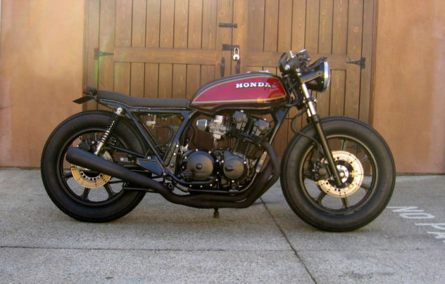 New Nighthawk Cafe Racer