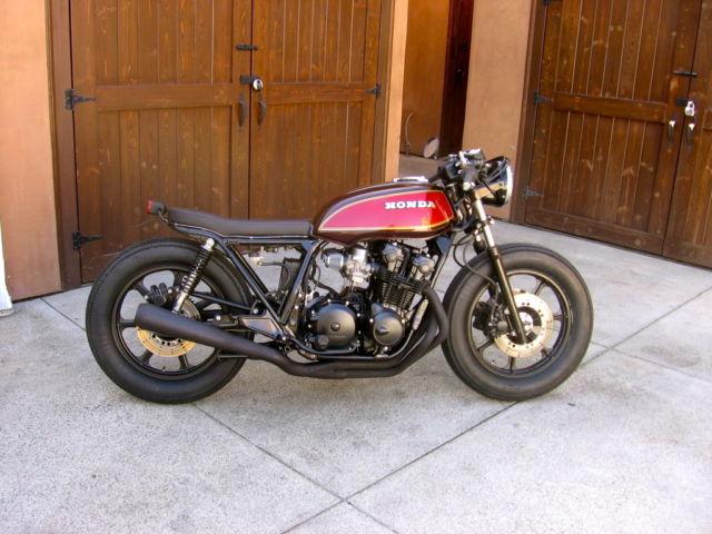 Honda CB750 cafe racer. Stunning. Custom, bobber.