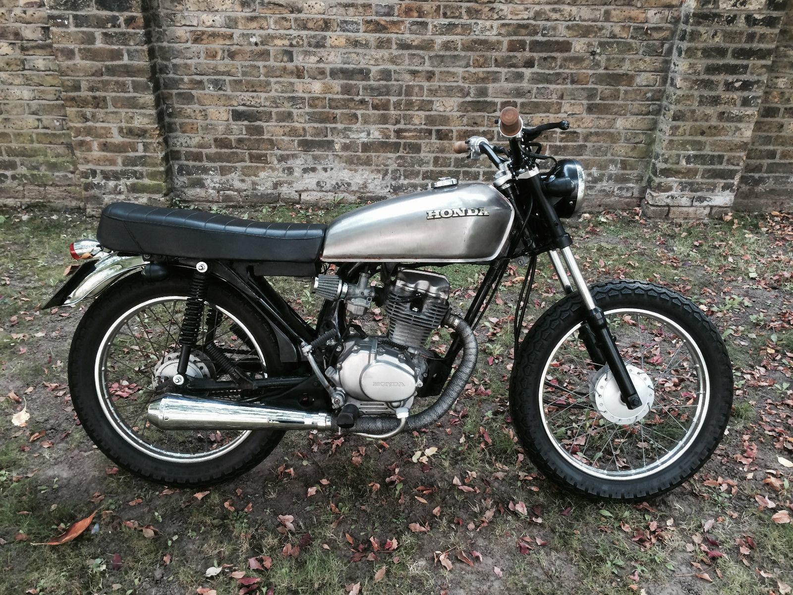 Honda Bullet Bike >> Honda CG125