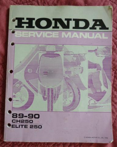 Honda Ch250 Elite Ch Ch 250 Scooter 250cc Automatic