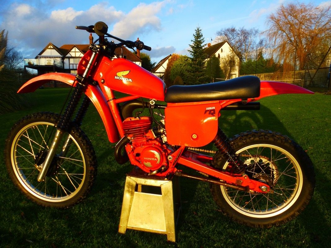 honda cr125 cr 125 1979 red rocket vintage super evo. Black Bedroom Furniture Sets. Home Design Ideas